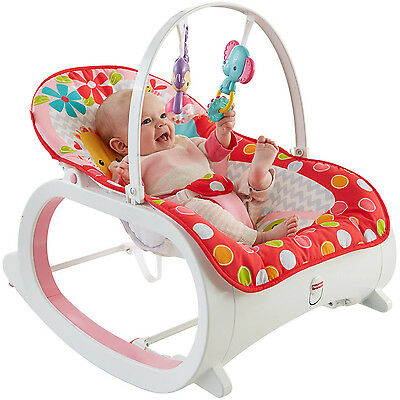 Fisher Price Infant To Toddler Rocker Baby Seat Bouncer Chair Sleeper Swing Play