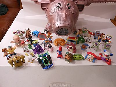2010 Disney Toy Story 3 Evil Dr Porkchop Electronic Spaceship over 35 Characters