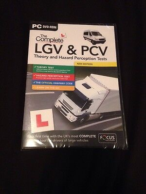 The Complete Lgv And Pcv Theory And Hazard Perception Dvd *new Edition*