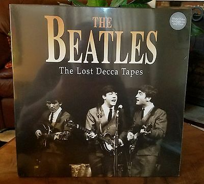 ●THE BEATLES●THE LOST DECCA TAPES●LP●CODA●CPLVNY104●SEALED●c2015●ULTRA RARE●