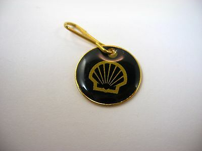 Vintage Keychain Charm: Shell Gas Gasoline Advertising Logo
