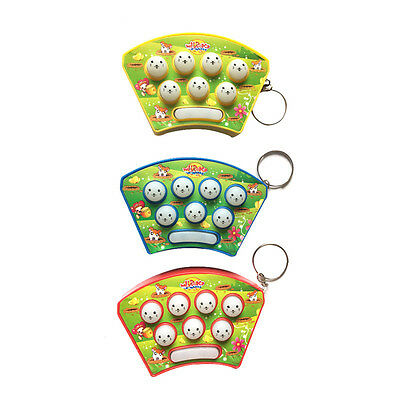 Mini Puzzle Sound And Light Music Knock Hamster Electronic Game Kids Game Toys