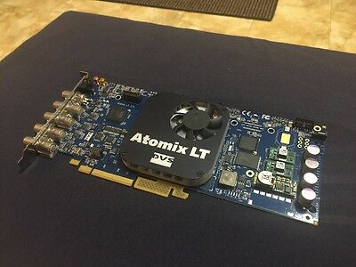 DVS Atomix LT 2k/stereo 3D HD / SD SDI IN/Out PCIe Video Card