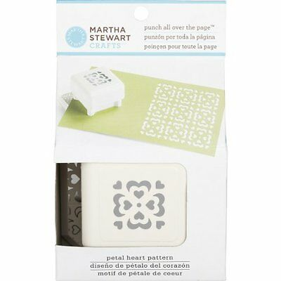 Martha Stewart Crafts Petal Heart Punch All Over The Page New