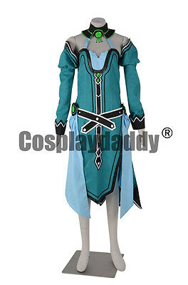 Hyperdimension Neptunia Vert Cosplay Costume F006