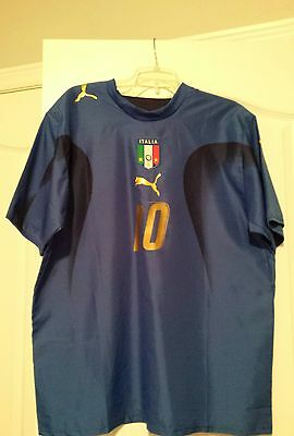 2006 Italy national team jersey ( last world cup win for Italy)
