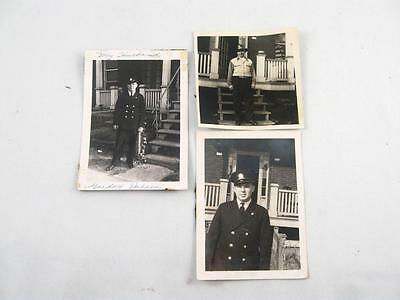 3 Vintage Photo Of Montreal Firefighter
