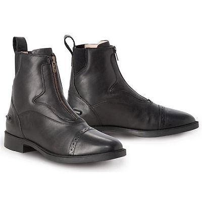 NEW Tredstep Ladies Giotto Front Zip Paddock Boots - Black 38,40, Brown 38,40,41