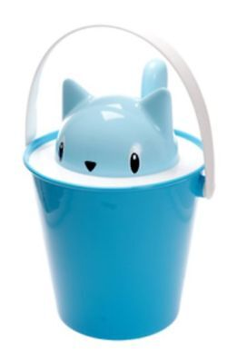 Crick-Cat Dry Food Container [Colour: Blue]