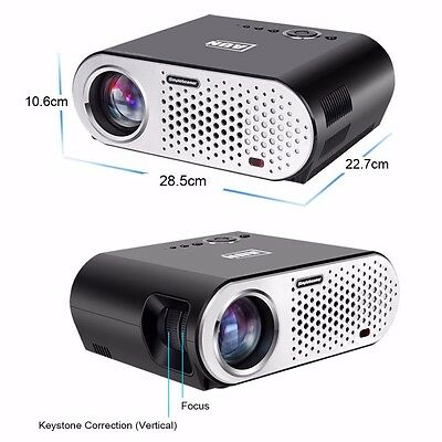 3200 Lumens Projector (Great for Home Theaters)