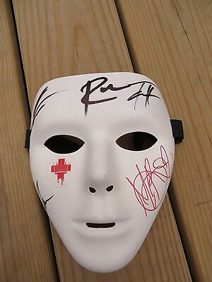 In This Moment Band Signed Blood Mask 2015 Concert Black Widow Tour Maria Brink