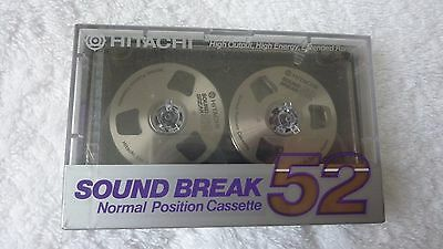 Hitachi Sound Break 52 Reel to reel cassette tape RC 52 SI