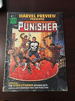 Marvel Preview #2!  Marve Super Action Featuring The Punisher!
