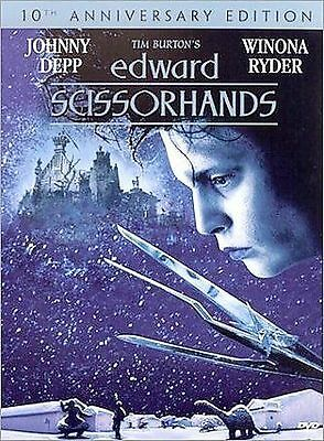 Edward Scissorhands (10Th Anniv. Edition Dvd: 1990)