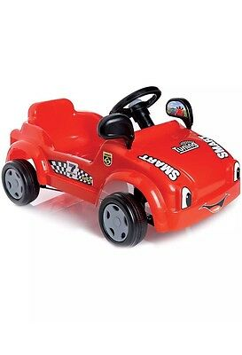 FREE POSTAGE -New Dolu Childrens Kids Smart Auto Pedal Operated Sports Car - Red