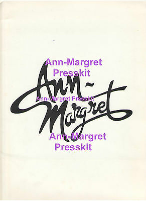 Ann Margret Press Kit Raw Satin Photos Press Releases Clippings Lot