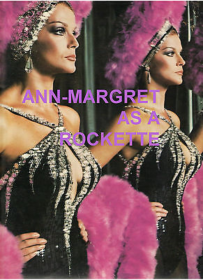 Ann Margret Rockette Press Kit Poster 2 Transparency Peck Vereen Diahann Sills