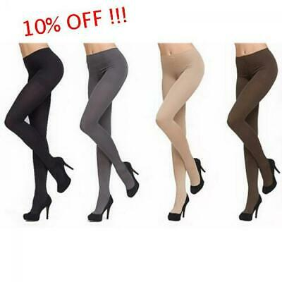 Women Thick 120D Stockings Pantyhose Tights Opaque Footed Socks
