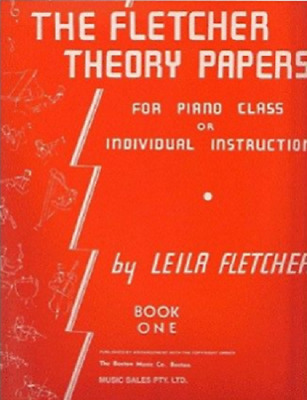 The Fletcher Theory Papers Book - Set 1 ( One / First ) - By Leila Fletcher