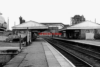 RP REPRO- wiltshire # station royal wootton bassett