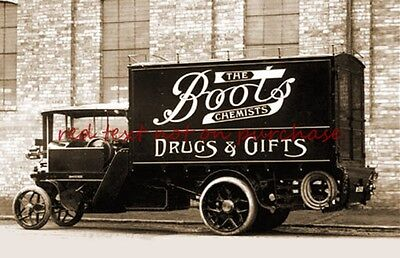 RP REPRO # boots chemist lorry