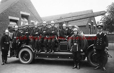 RP REPRO # fire engine brigade #  bletchley #