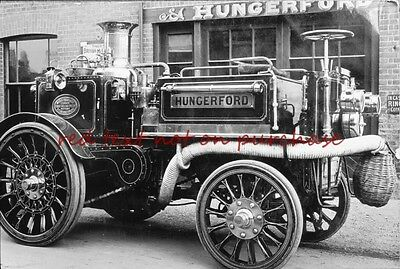 RP REPRO # fire engine brigade #  hungerford