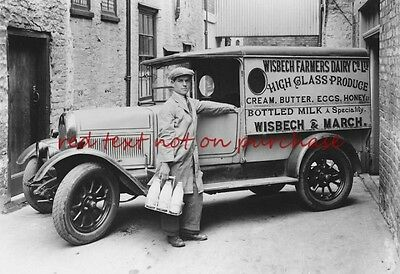 RP REPRO # wisbech and march dairy milkman milk #