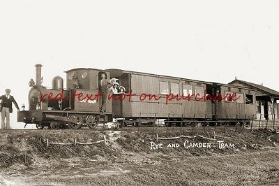 RP REPRO # rye and camber sands tram railway