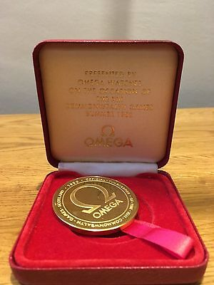 Omega Watches Commonwealth Games Medal - Scotland 1986 Collectors Item