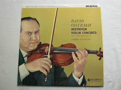 33CX 1672, BEETHOVEN: Violin Concerto DAVID OISTRAKH, CLUYTENS, NM UK 1ST