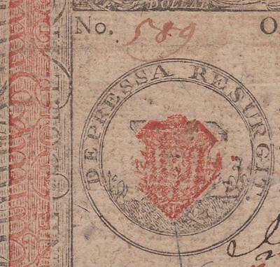 CC-87 *** PCGS VF35 PPQ *** $1.00 Jan. 14, 1779 Continental Colonial Currency