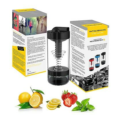 Intelishake H20 INFUSE - Black Forest - Multi-Compartment 550ml Water, Protein S