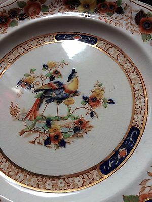 Antique SIDE PLATE S HANCOCK SONS CORONAWARE YE OLDE WINCHESTER 6593   50