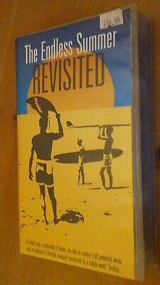 Endless summer revisited classic rare old Surfing VHS Video