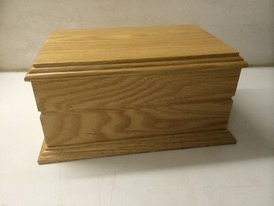 Human Wooden Casket/Urn for ashes