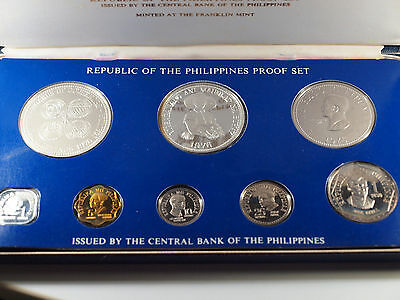 Philippines 1976 coin set proof