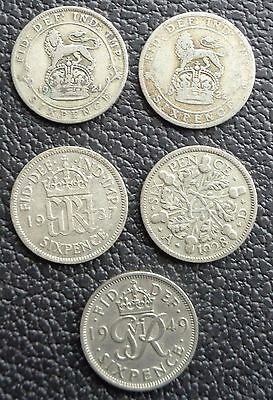 1920 To 1952 George V - George Vi Sixpence - Choose Your Year