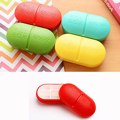 Small Weekly Pill Travel Box Tablet Holder Medicine Dispenser Organiser*storage