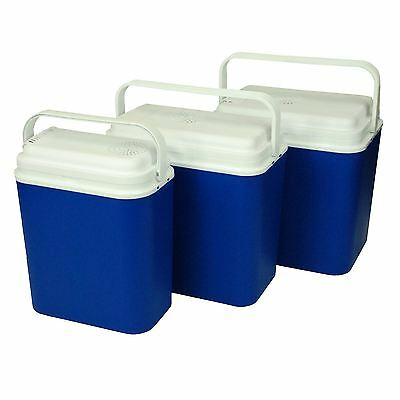 CrazyGadget® Portable 12V Electric Cool Box Food Drink in 18L, 24L & 30L sizes