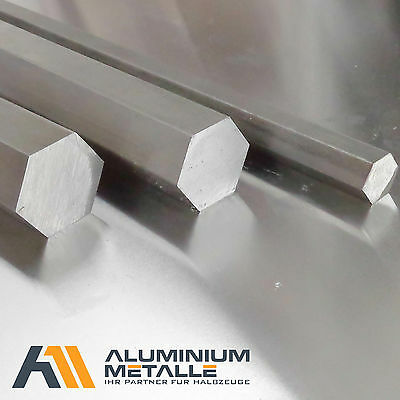 Stainless Steel Six Sided SW 17mm 1.4305 H11 Length Selectable VA V2A Solid Hex