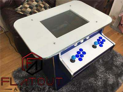 Arcade Cocktail Table Machine 621 Retro Games 2 Player Gaming Cabinet UK Made