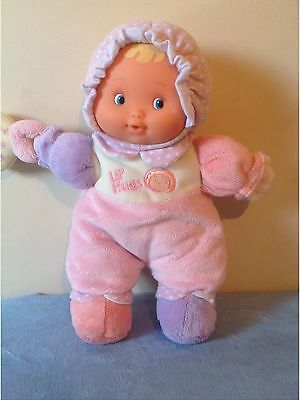 Plush Baby's First Activity Berenguer Doll Soft Body Vinyl Face 32cm TallVGC
