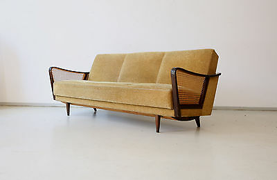 50er sofa schlafsofa 50s daybed vintage midcentury 60er 60s eur 560 00 picclick de. Black Bedroom Furniture Sets. Home Design Ideas