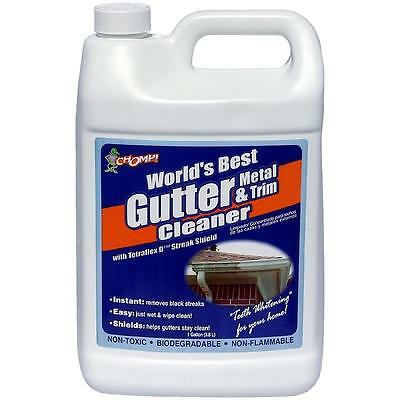 Chomp 36222544 Professional Strength Gutter And Trim Cleaner, 1 Gallon Mfg#53010
