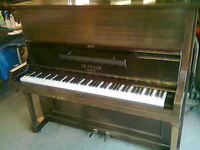 Ed Seiler Upright Piano From Yesteryear Approx 50 Years Old