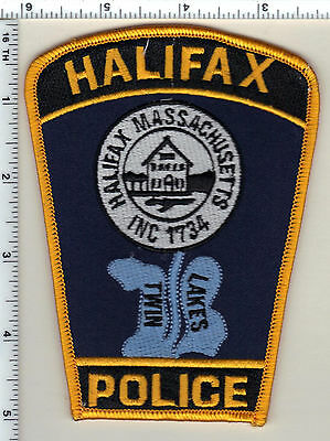1990/'S MASSACHUSETTS HALIFAX FIRE IRON//SEW ON PATCH