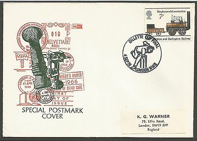 1976 Cricket Gillette Cup Final Special Postmark Cover