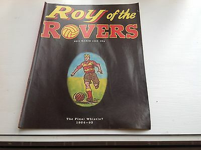 Roy Of The Rovers Last Edition 20th March 1993