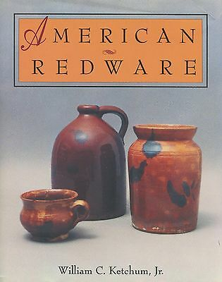 American Redware Pottery Stoneware Makers - Jugs Crocks Bowls Etc. / Scarce Book